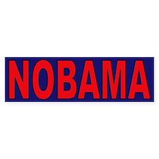 Red/Navy Blue Bumper Bumper Sticker
