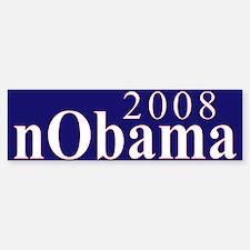 2008 NOBAMA Bumper Bumper Bumper Sticker