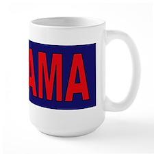 Red/Navy Blue Mug