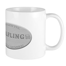 Brushed Steel - Halfling Pride Mug
