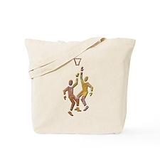 Friendly Basketball Tote Bag