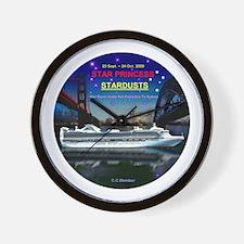 StarDUSTS Logo- Wall Clock