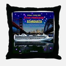 StarDUSTS Logo- Throw Pillow