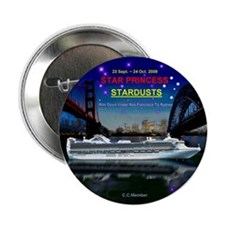 "StarDUSTS Logo NameTag- 2.25"" Button"
