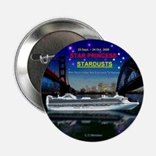 "StarDUSTS Logo NameTag- 2.25"" Button"
