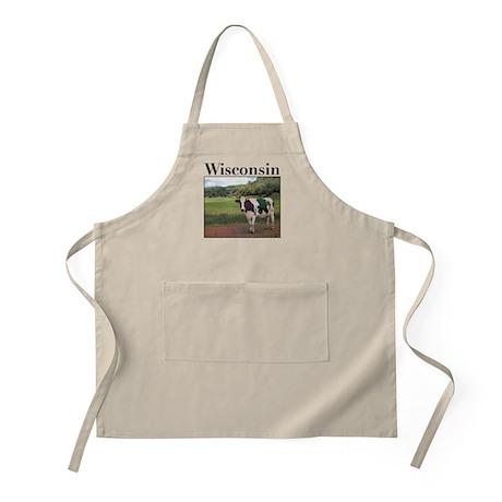 Wisconsin Cow BBQ Apron