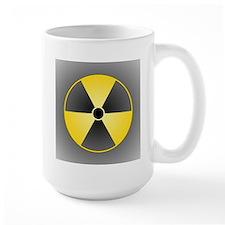 Yellow Radiation Symbol Mug