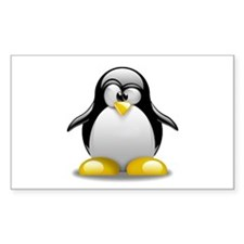 Penguin Rectangle Decal