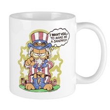 Patriotic Garfield Mug