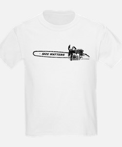 Size Matters (Chainsaw) T-Shirt