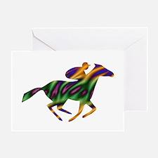 Horseback Ride Greeting Card