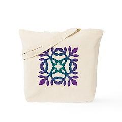 Colorful Papercut Tote Bag