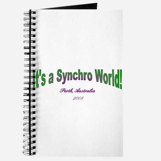 Cute Synchro swimming Journal