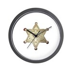 Wind River Police Wall Clock
