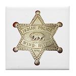Wind River Police Tile Coaster