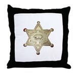 Wind River Police Throw Pillow