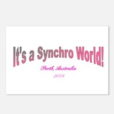 Funny Synchro swimming Postcards (Package of 8)