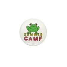 SUMMER CAMP FROG LOOK Mini Button (100 pack)