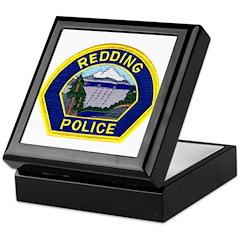 Redding Police Keepsake Box