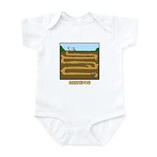 Cartoon Earthdog Infant Bodysuit