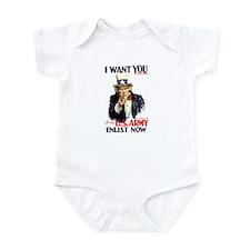 I Want You Infant Bodysuit