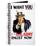 I Want You Journal