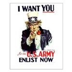 I Want You Small Poster