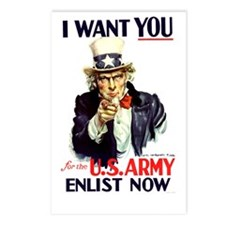 I Want You Postcards (Package of 8)