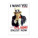 I Want You Mini Poster Print