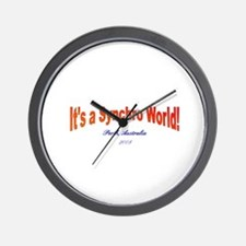 Funny Synchro swimming Wall Clock