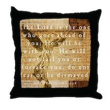 Cool Deuteronomy Throw Pillow