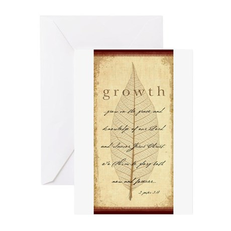 2 Peter 3:18 Greeting Cards (Pk of 20)