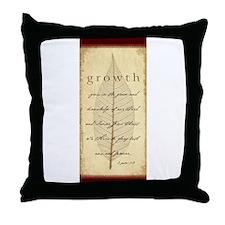 2 Peter 3:18 Throw Pillow