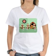 Sock Monkey Ice Cream Shirt