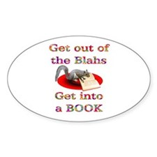 Blahs Oval Decal
