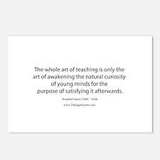 Art of Teaching Postcards (Package of 8)