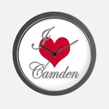 I love (heart) Camden Wall Clock