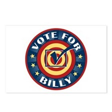 Vote for Billy Personalized Postcards (Package of