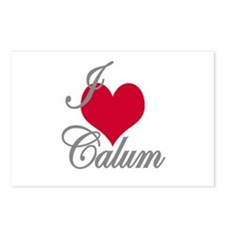 I love (heart) Calum Postcards (Package of 8)