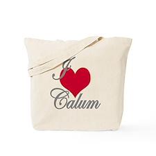 I love (heart) Calum Tote Bag