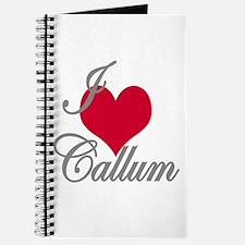 I love (heart) Callum Journal