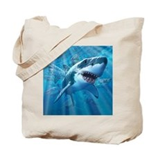 Great White 2 Tote Bag