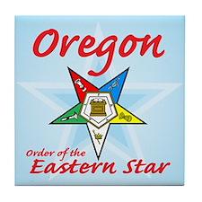 Oregon OES Tile Coaster
