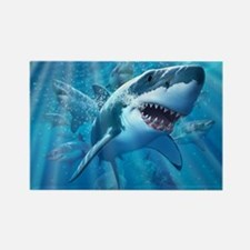 Great White 2 Rectangle Magnet