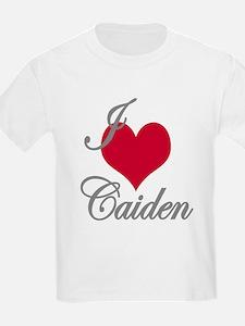 I love (heart) Caiden T-Shirt