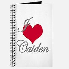 I love (heart) Caiden Journal