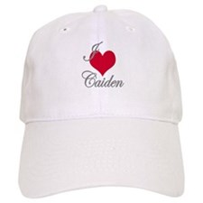 I love (heart) Caiden Baseball Cap