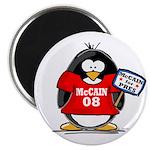 McCain 08 Penguin Magnet