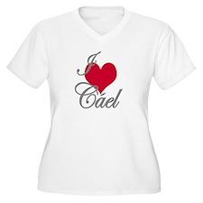I love (heart) Cael T-Shirt