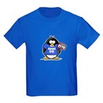 Obama 08 Penguin Kids Dark T-Shirt